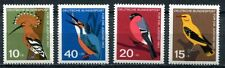 GERMANY 1963 BIRDS SET OF FOUR STAMPS MINT NEVER HINGED COMPLETE!