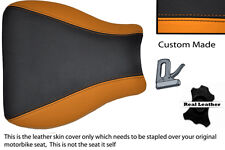 BLACK & ORANGE 95-97 CUSTOM FITS KAWASAKI NINJA ZX6R 600 FRONT SEAT COVER