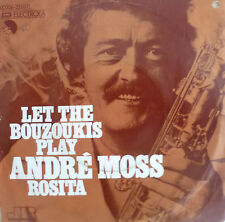 "7"" 1974 INSTRUMENTAL KULT MINT-? ANDRE MOSS : Let The Bouzoukis Play"