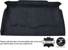 BLACK STCH ROOF HEADLINING PU SUEDE COVER FITS LAND ROVER DEFENDER 90 TRUCK CAB