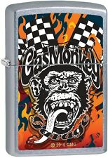 Zippo Gas Monkey Garage Street Chrome Finish Windproof Lighter 207CI400697 *NEW*