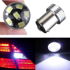 2x Bulb 12V Car LED Signal Rear Light BA15S 1156 White Lamp 2835 6 SMD Turn