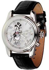 DISNEY WATCH - DAGOBERT DUCK QUARZ-CHRONOGRAPH; UNISEXUHR, SAMMLERUHR, NEU