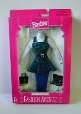 1997 Barbie Outfit ~  Fashion Avenue Boutique ~ Plaid Jumper Set  ~ NEW in Box