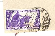 ITALIA REGNO su busta francobollo del 1932 lire 0,50 Decennale Marcia su Roma