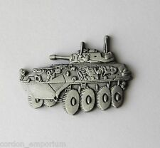 UNITED STATES ARMY LIGHT ARMORED VEHICLE LAV LOGO LAPEL PIN 1 INCH