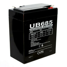 UPG 6V 8.5Ah SLA Replacement Battery for Rhino SLA9-6 ADT Security 4520608