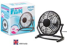 "6"" USB DESKTOP FAN Home Office PC Computer Laptop Desk Portable 15 cm Box Gift"