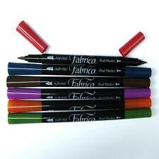 Fabrico Markers Dual Tip 6 Color Fabric Pen Set - Landscape PF-400-007