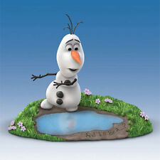 And I'll be a ....? Olaf Frozen Figurine Hamilton Collection Disney