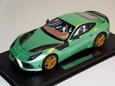 1/18 Mansory Ferrari F12 Stallone in Mint Green Limited to 15 pcs Leather Base