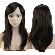 CHEAP SALE LONG CURLY STRAIGHT WIG FANCY DRESS COSPLAY WIGS POP PARTY COSTUME #V
