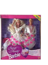 BARBIE - SECRET HEARTS DELUXE GIFT - NRFB 1992