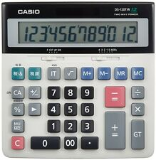 Casio calculator 12-digit DS-120TW (tax-adder method) Japan Model New (1000)
