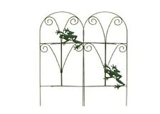 Folding Fence with Frogs, Weather Resistant Garden Fencing, Frog Fence Edging
