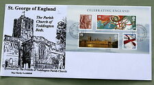 CELEBRATING ENGLAND 2007 TODDINGTON PARISH CHURCH FDC TODDINGTON DUNSTABLE H/S.