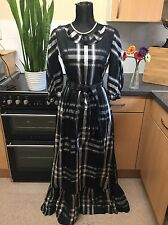 Dramatic 1950/60s HORROCKSES FASHIONS - VINTAGE Victorian Steampunk Dress - UK S