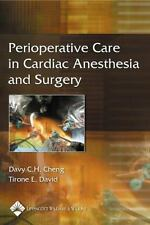 Perioperative Care in Cardiac Anesthesia and Surgery (2005, Paperback)