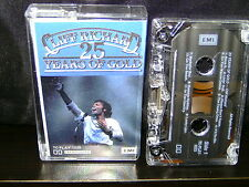 "CLIFF RICHARD ""25 YEARS OF GOLD"" RARE OZ CASSETTE NM"