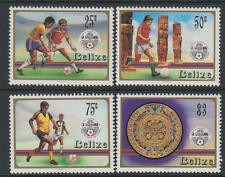 XG-T295 BELIZE - Football, 1986 Mexico '86 World Cup MNH Set