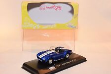 / POTATO CAR SHELBY COBRA 427 S/C 1965 METALLIC BLUE MINT BOXED