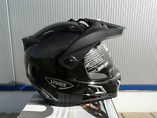 Motorcycle helmet Uvex Enduro 3 in 1 Carbon black uni Size M