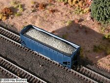Hay Brothers - BALLAST/GRAVEL LOAD - fits ATLAS 2-Bay Offset-Side Hopper Cars