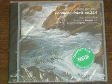 FRANZ SCHUBERT- TRIO WANDERER Forellenquintett op.114 CD NEUF
