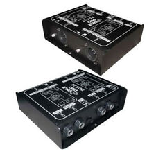 NEW Dual Ch Direct Passive Box.Stereo Component.Hook Up To Mixer Amplifier.Audio