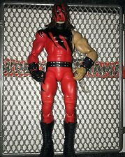 WWE Mattel Elite Kane 12 Wrestling Figure Flashback Debut Gear Red Legend