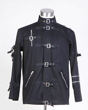 "Michael Jackson ""Bad"" Black Jacket Costume Costume for Man Cosplay Tailored"