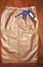 100% Leather Pencil Skirt size 12, M&S COLLECTION, RRP 149