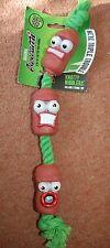 NUOVO Originale PATATINE intricato Nibblers SALAME Stringa giocattolo per cane Triple Trouble Natale
