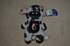 """LA Clippers 12"""" Cow Pancake Plush Animal New With Tag!"""