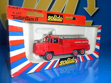 Camion de metal BOMBEROS serie Toner Gam II de SOLIDO-mod lance Mousse