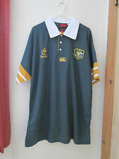 New  Very Rare Green Wallabies Rugby Union  Australia Shirt Jersey