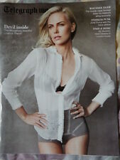 Charlize Theron cover - Telegraph magazine January 2012 Ralph Fiennes