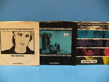 Tom Petty PS 45 LOT The Waiting 51100, A Woman In Love 51136, Jammin' Me 53065