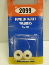 """Brass Craft BEVELED FAUCET WASHERS, TRADE SIZE: 000, O.D. 15/32"""", WHITE, SC2099"""