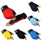 2015 Bike Bicycle Fingerless Sports Half Finger Glove For Outdoor Riding Cycling
