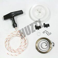 STIHL 044 046 RECOIL / REWIND SPRING STARTER PULLEY HANDLE GRIP ROPE ROTOR PAWL