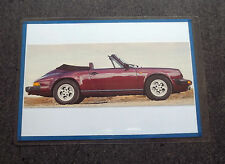 326A - FOTO/RITAGLIO PHOTO/CLIPPING 2006 - PORSCHE CARRERA CABRIOLET 1984