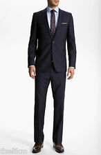 NWT Hugo (Red Label) Wool Slim Fit Luxurious Business Suit 46L(US) or 110(EU)