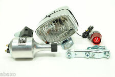 Vintage Classic Retro Bicycle Bike Light&Generator Set Front&Rear Set w/Hardware