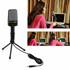 3.5mm Wired Studio Capacitive Plug and Play Microphone SF-920 For Computer LA