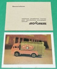 BENNE-ORDURES  ECOLE BON-POINT MINIATURE MAJORETTE 1970 70's