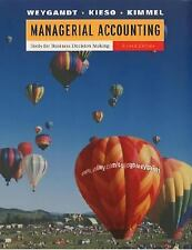 Managerial Accounting : Tools for Business Decision Making by Donald E....