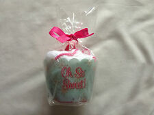 Oh So Sweet Lip Gloss and Face Cloth Gift Set - Ideal Gift with Pink Bow