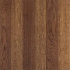 "Medium Oak Plank Wood Self Stick Adhesive Vinyl Floor Tiles - 80 Pcs 12"" x 12"""