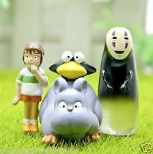 Spirited Away Travel adventure ogino chihiro No face man fly mouse action figure